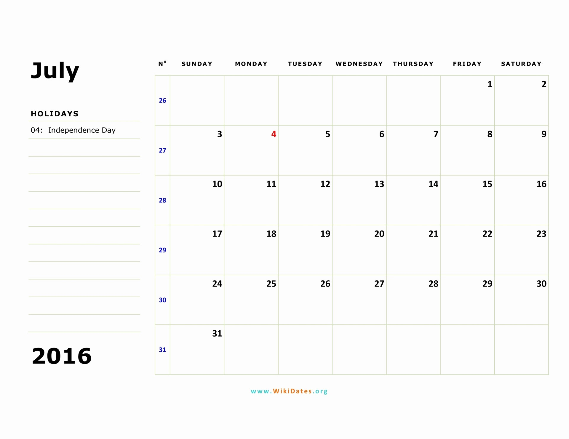 3 Month Calendar 2016 Template Best Of 3 Month Calendar Printable July 2016