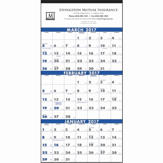 3 Month Calendar 2016 Template Lovely 7 Best Of 3 Month Printable Calendar Line Free