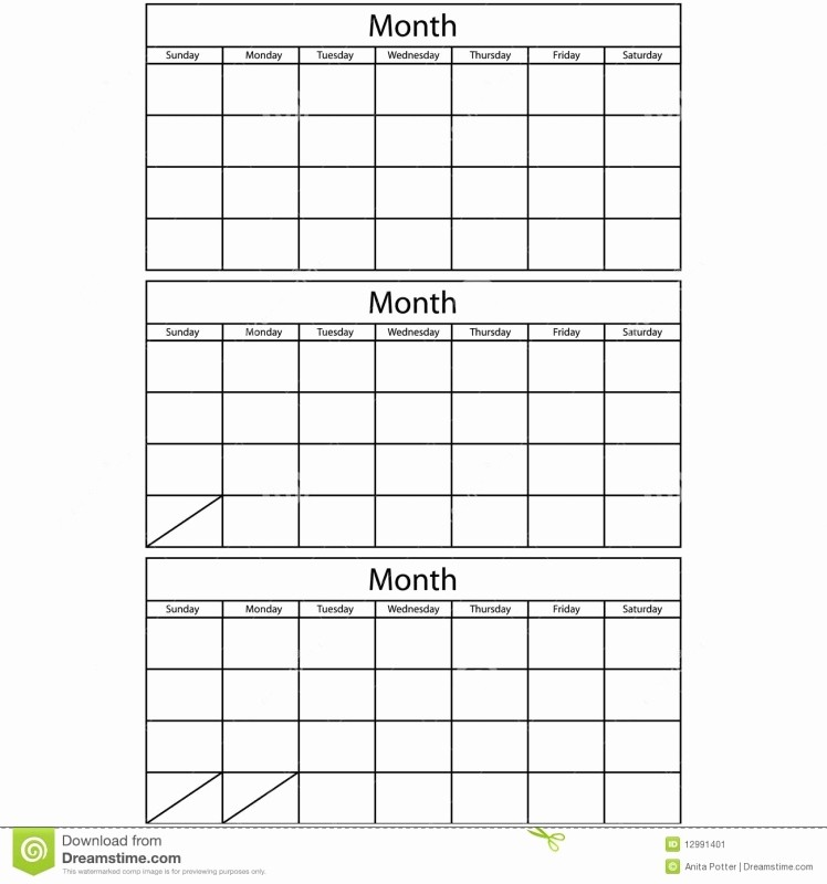 3 Month Calendar 2016 Template Unique 2016 Three Month Calendar Printable Free Calendar Template