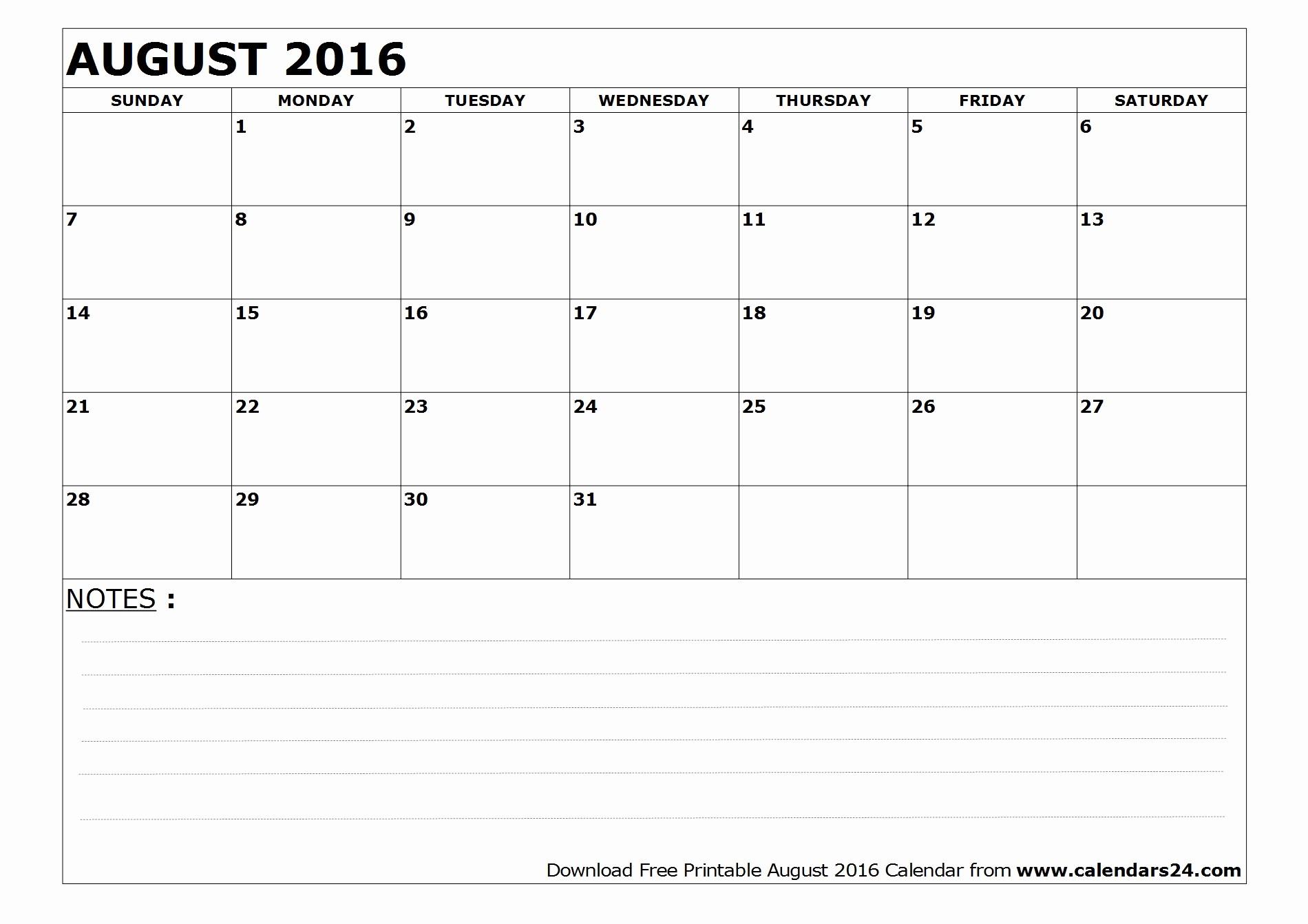3 Month Calendar Printable 2016 Fresh August 2016 Calendar & September 2016 Calendar