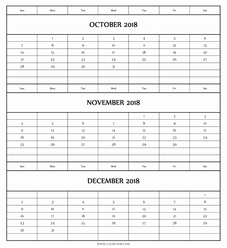 3 Month Calendar Template Word Awesome 3 Month Calendar Template Word – asusdriversfo