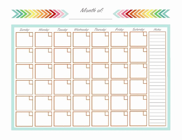 3 Month Calendar Template Word Awesome Monthly Calendar Template