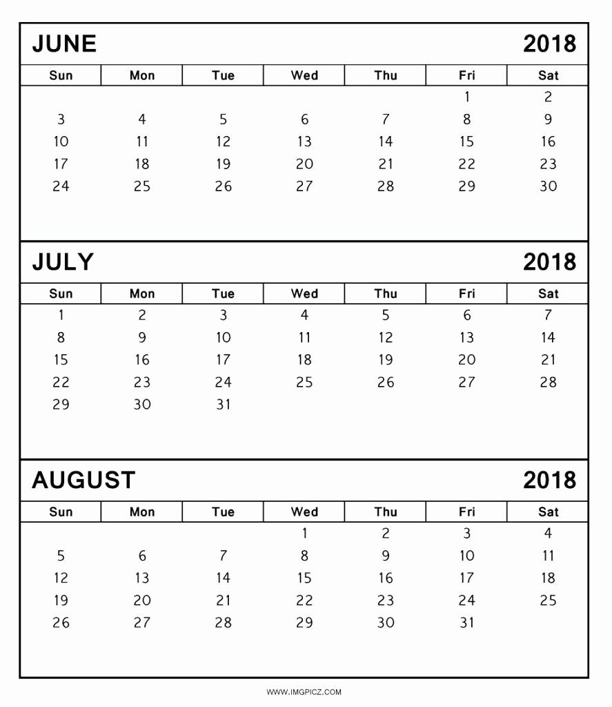 3 Month Calendar Template Word Inspirational 3 Month Calendar Template
