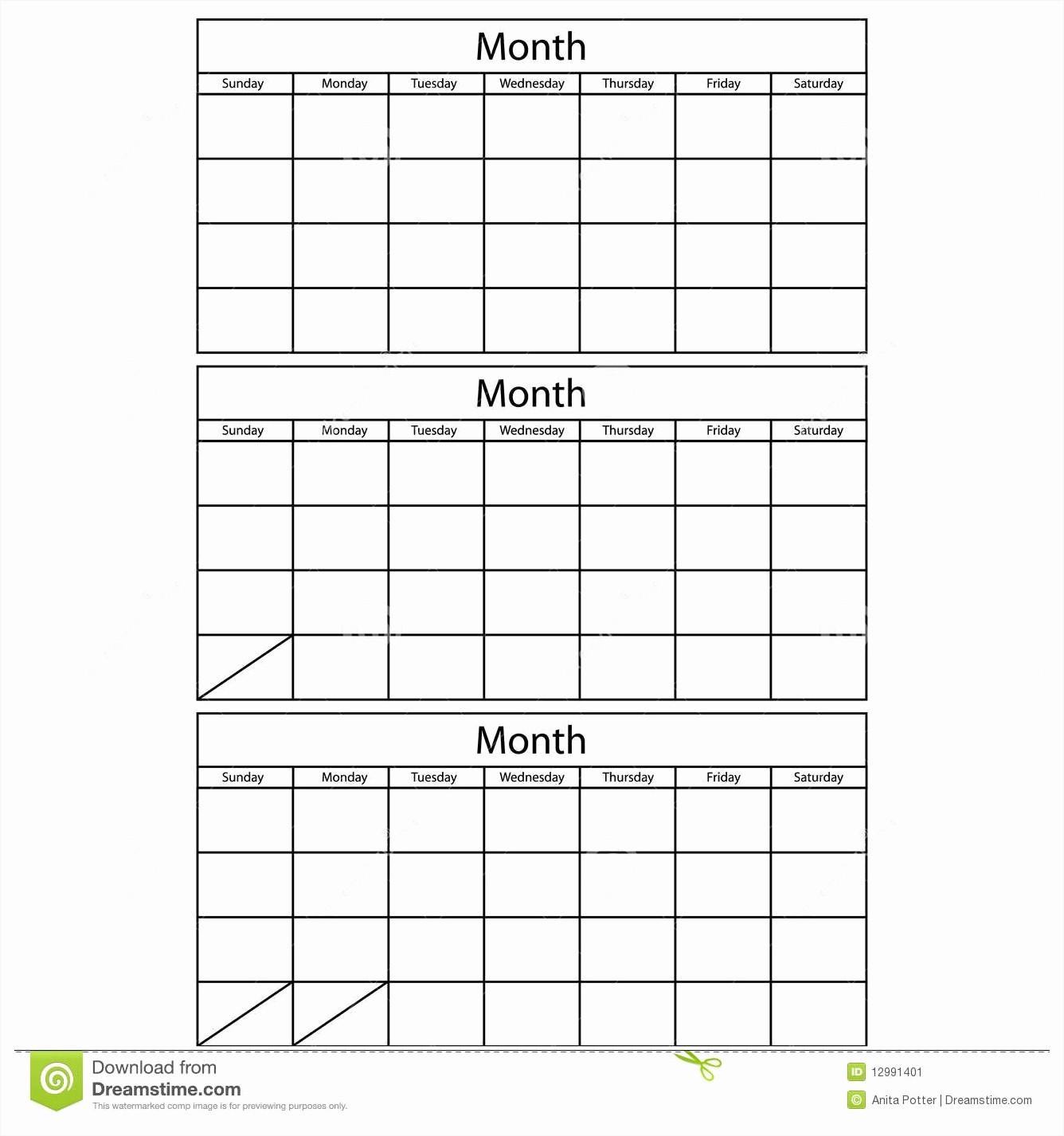 3 Month Calendar Template Word Inspirational Three Month Calendar 2017 Calendar