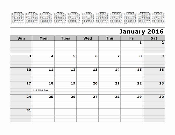 3 Month Calendar Template Word Lovely Printable 12 Month Calendar 3 Month Calendar Template Word