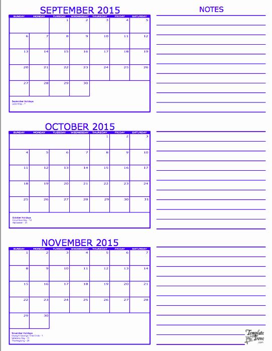3 Month Calendar Template Word Luxury Three Month Calendar Template Word 3 Month Calendar