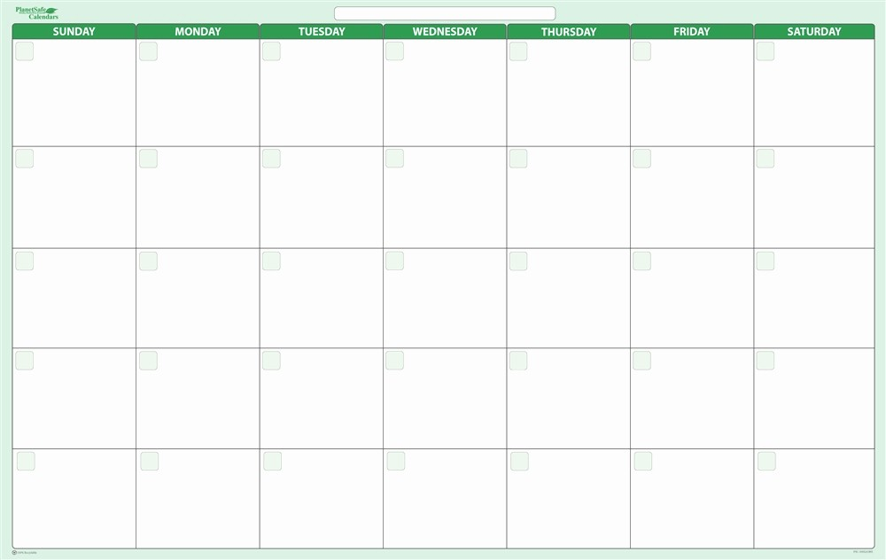 """30 Day Calendar Template Word Awesome 30 Day Wall Calendar 24"""" X 38"""" Dry Erasable"""
