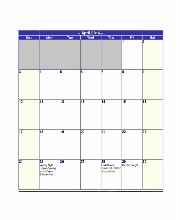 30 Day Calendar Template Word Fresh 30 Day Calendar Reverse Search