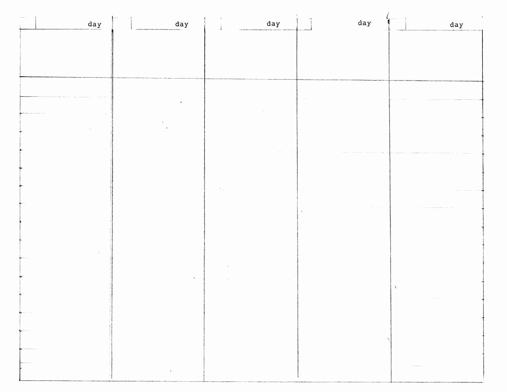 30 Day Calendar Template Word Lovely 5 Week Calendar Template