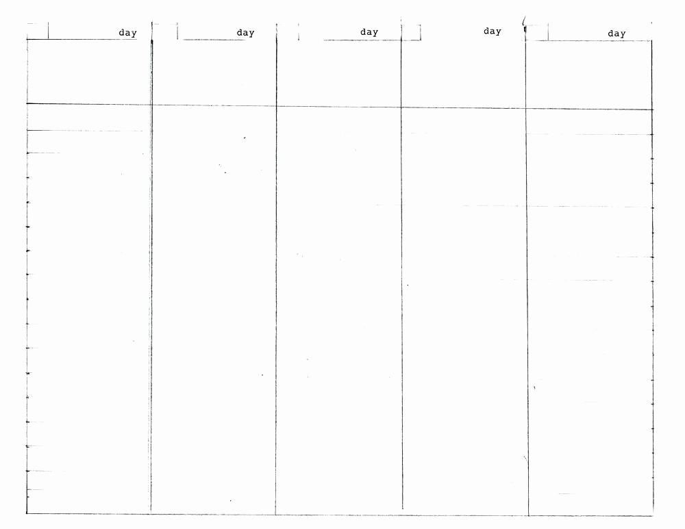 30 Day Calendar Template Word Lovely 5 Week Calendar Template