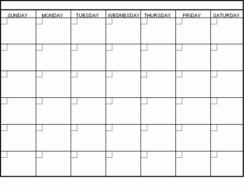 30 Day Calendar Template Word Luxury Blank 30 Day Calendar Pages Blank Calendar
