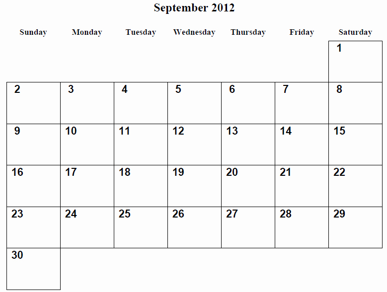 """30 Day Calendar Template Word New Search Results for """"30 Day Blank Calendar Printable"""