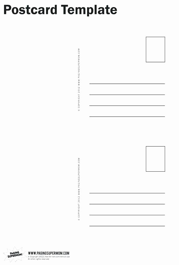 4 Per Page Postcard Template Awesome Avery Postcard Template 4 Per Sheet – Polypan