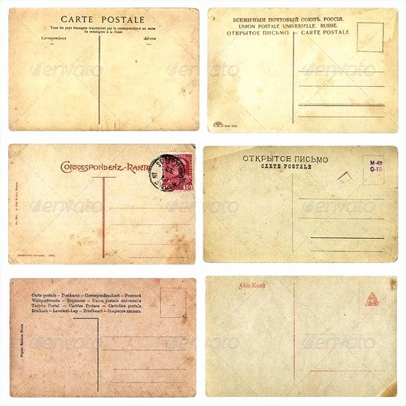 4 Per Page Postcard Template Awesome Post Card Template Postcard Sample Holiday Templates Free