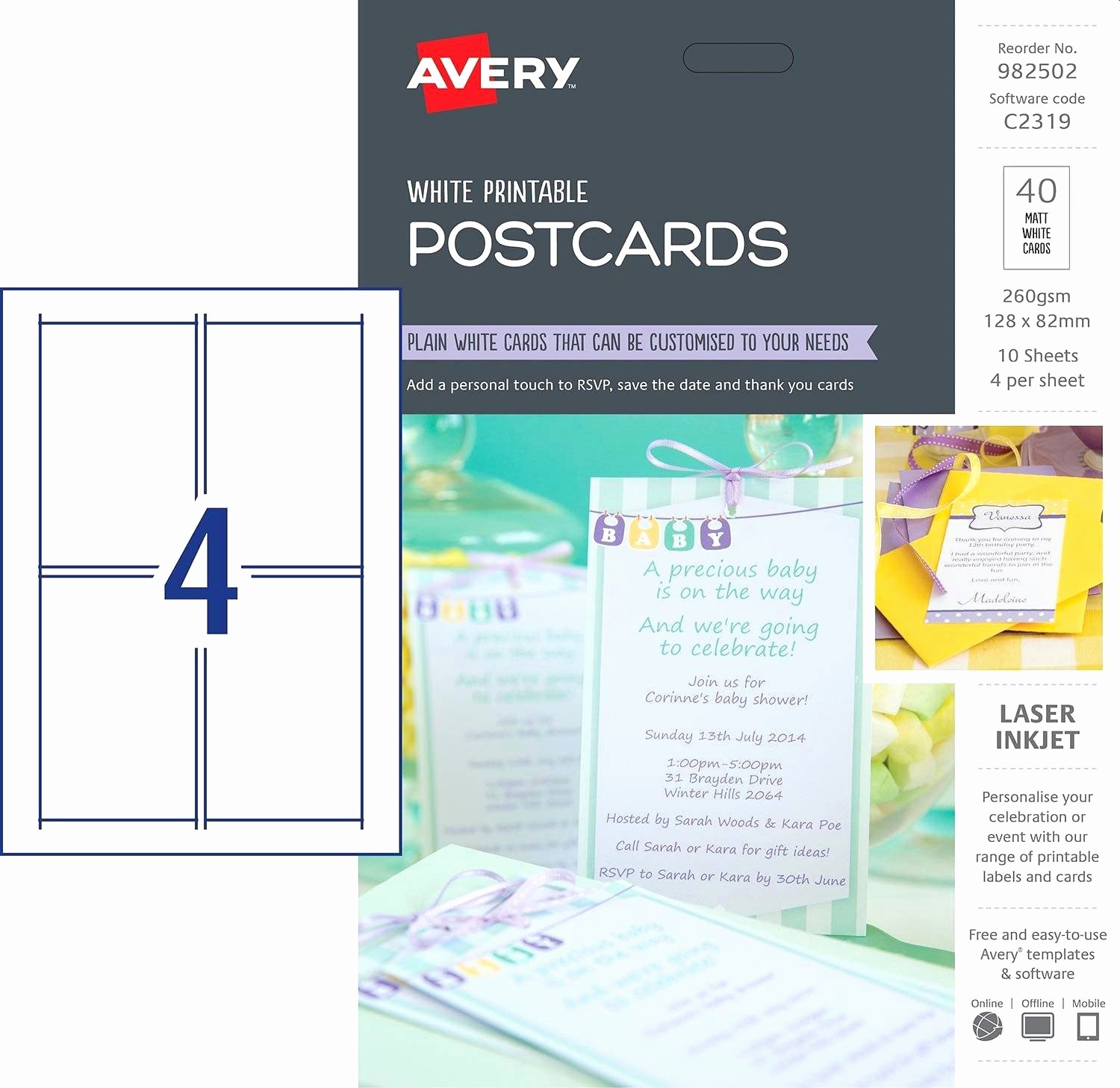 4 Per Page Postcard Template Inspirational Exclusive Gallery Avery 4×6 Postcard Template