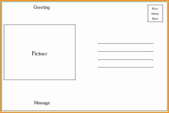 4 Up Postcard Template Word Lovely Microsoft Word 4x6 Postcard Template 4x6 Postcard Template