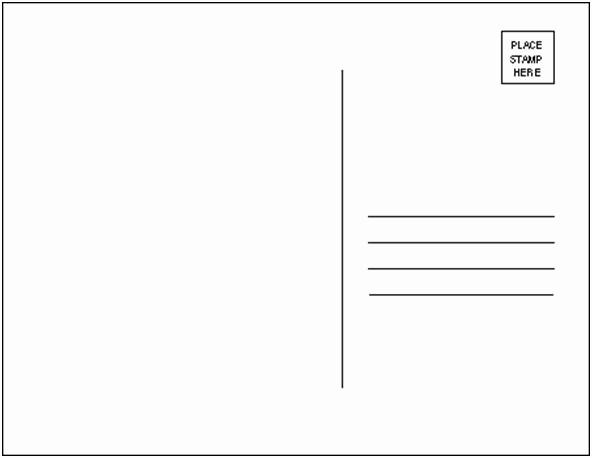 4 Up Postcard Template Word New Project Postcard Template by thecoven On Deviantart