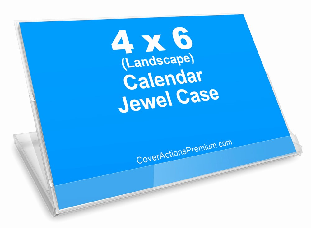 4 X 6 Calendar Template Best Of Calendar Jewel Case Mock Up 4x6 Landscape