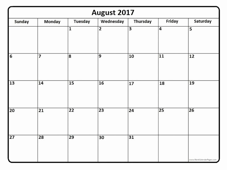 2017 printable calendars