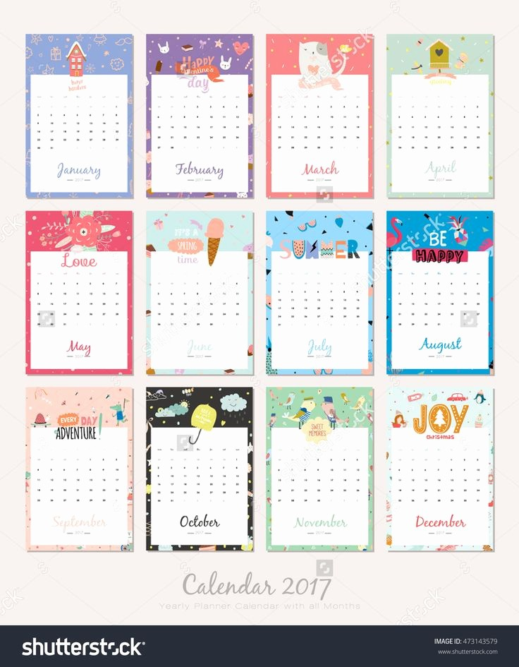 4 X 6 Calendar Template Elegant Best 25 Calendar Templates Ideas On Pinterest