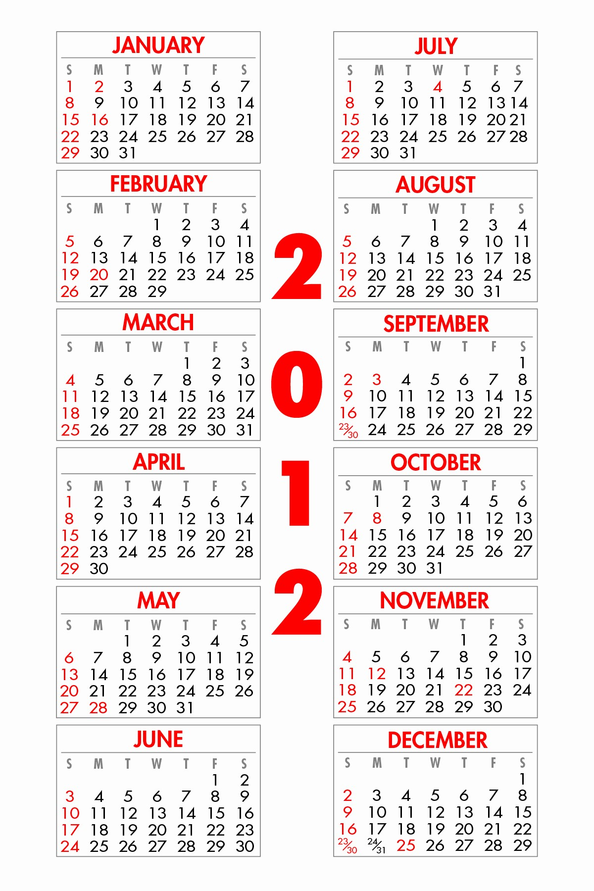 4 X 6 Calendar Template Fresh Calendars