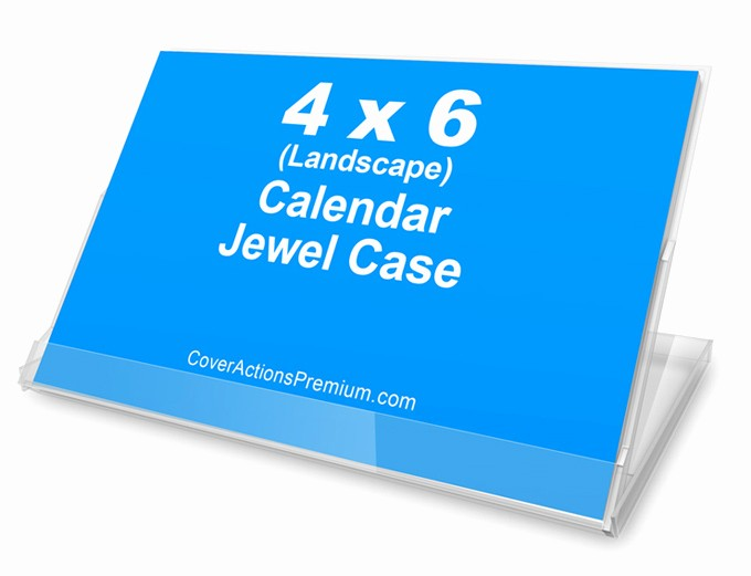 4 X 6 Calendar Template Luxury Calendar Jewel Case Mock Up 4x6 Landscape