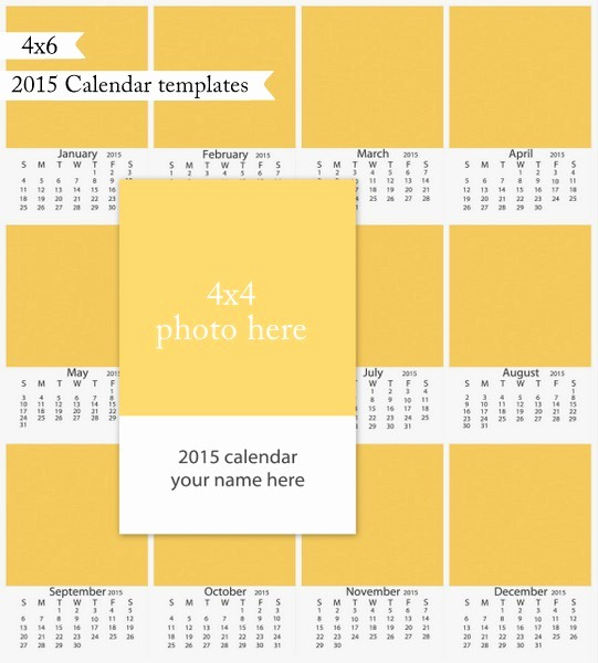 4 X 6 Calendar Template New 2015 Calendar Templates now Available — Beverly Lefevre