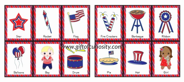4th Of July Cards Printable Best Of Free Printable 4th Of July Bingo Game Gift Of Curiosity