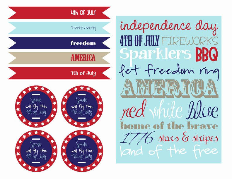 4th Of July Cards Printable Best Of Freebie Friday Fourth Of July Printables