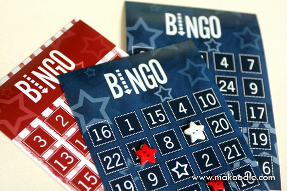 4th Of July Cards Printable Fresh 4th Of July Games Free Printable Bingo Cards Makoodle