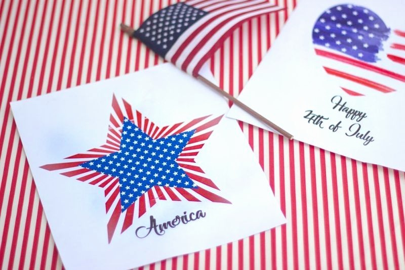 4th Of July Cards Printable Lovely 15 Free Printable 4th Of July Decorations On Love the Day