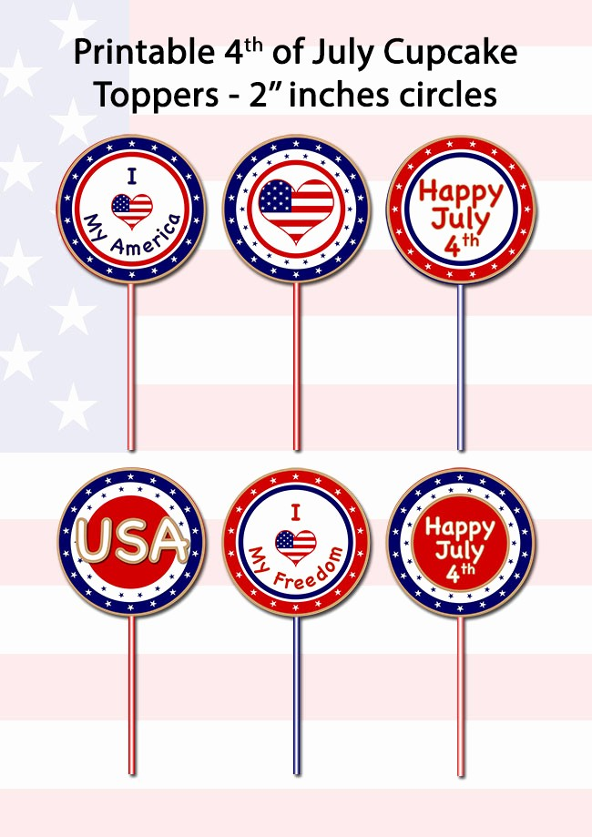 4th Of July Cards Printable New Printable 4th Of July Cards