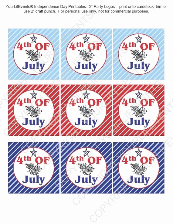 4th Of July Cards Printable Unique 4th Of July Printables Instant Download Independence Day