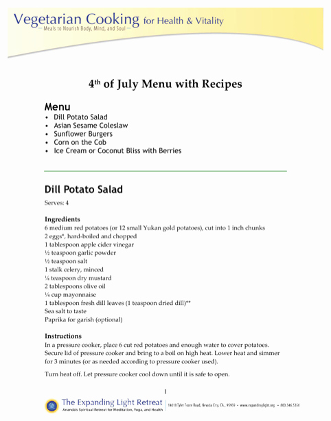4th Of July Menu Template Beautiful Download Holiday Menu Template for Free formtemplate