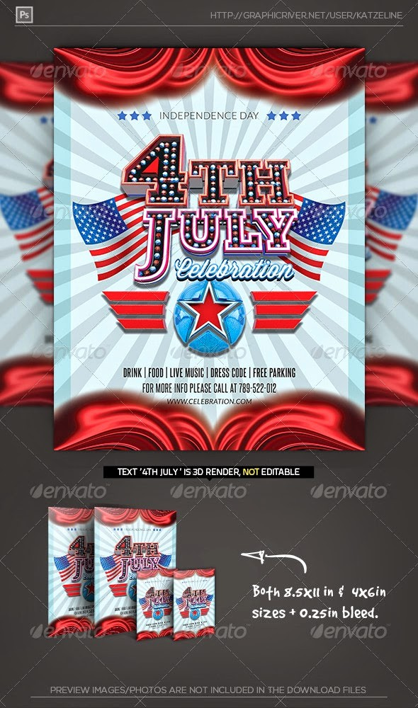 4th Of July Menu Template Inspirational 20 Best Design Psd Posters and Flyer