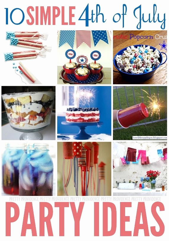 4th Of July Party Invites Beautiful Fourth Of July Party Ideas Pretty Providence