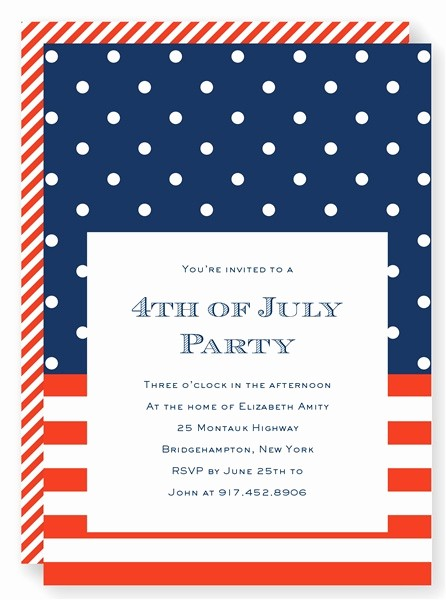 4th Of July Party Invites Elegant 7 Best 4th Of July Party Invitations Images On Pinterest