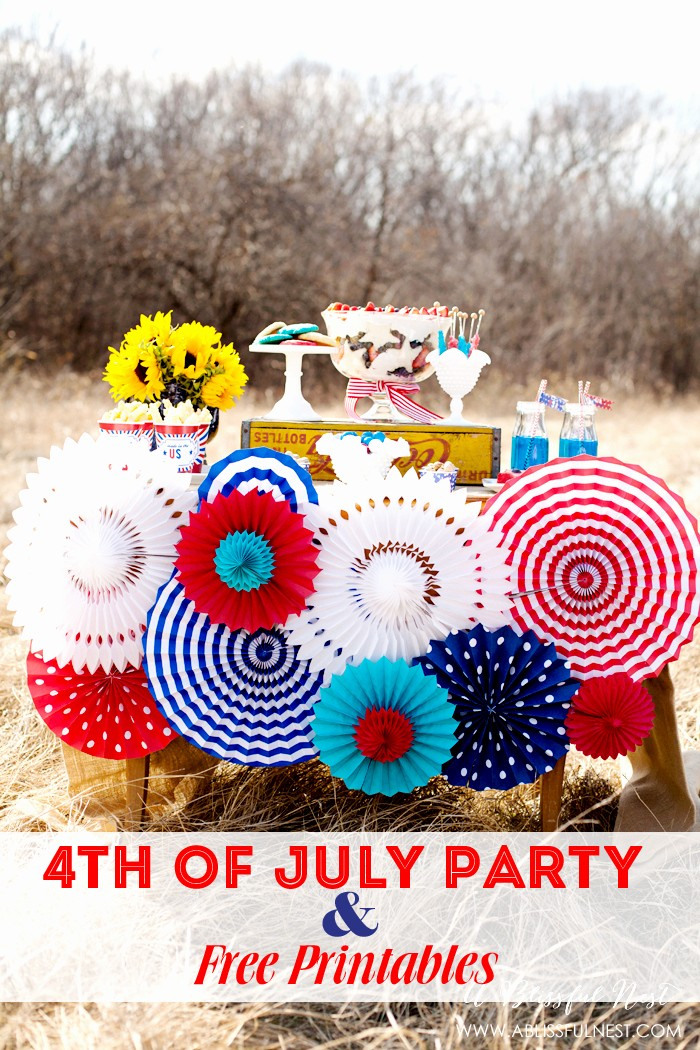 4th Of July Party Invites Luxury Fourth Of July Party Printables