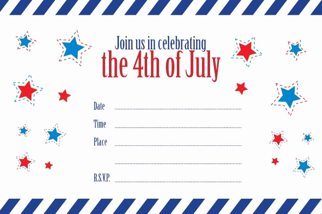 4th Of July Templates Free Inspirational Flipawoo Invitation and Party Designs Free 4th Of July