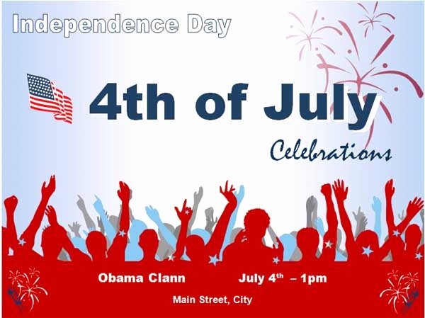4th Of July Templates Free Lovely 10 Free 4th Of July Flyer Templates Demplates
