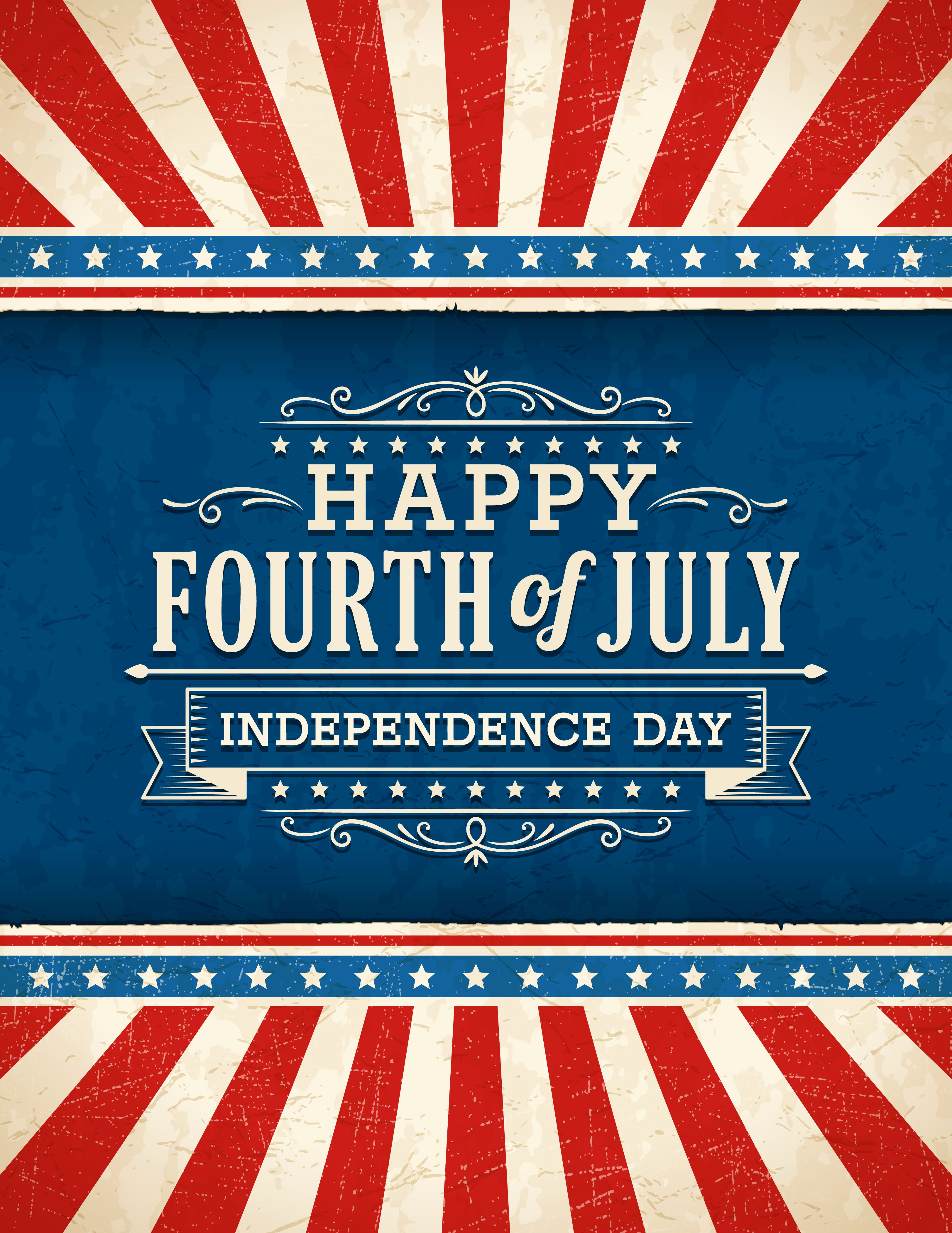 4th Of July Templates Free Luxury Holiday Closing On July 4th