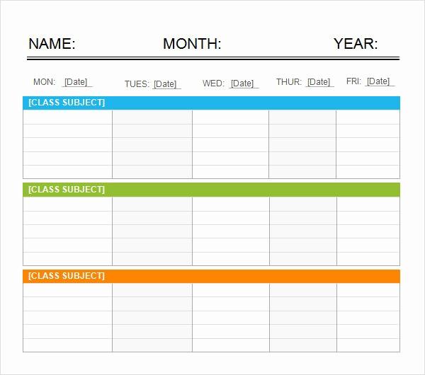 5 Day Calendar Template Word Fresh Weekend Schedule 7 Free Pdf Doc Download
