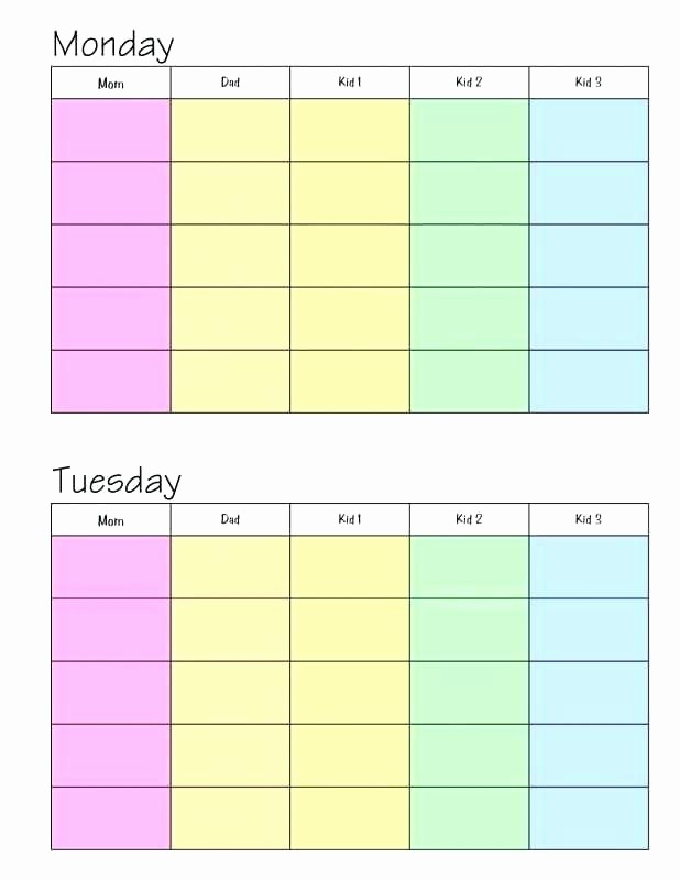5 Day Calendar Template Word Luxury 5 Day Week Calendar Template – Jjbuildingfo
