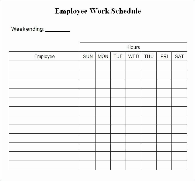 5 Day Calendar Template Word New Days the Week Calendar Template Blank 5 Day Work