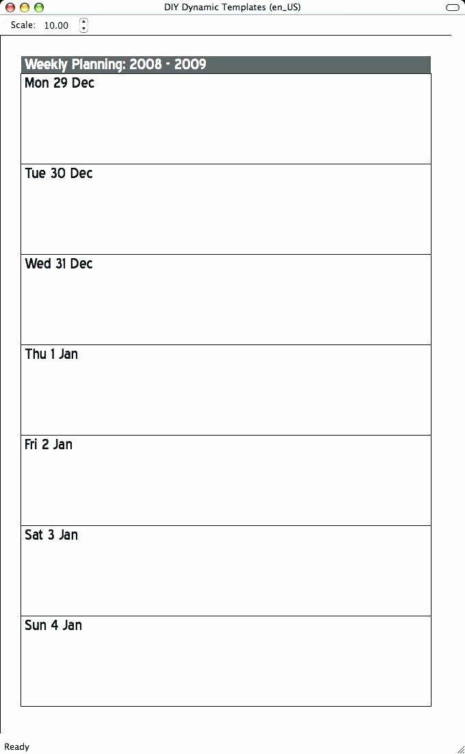 5 Day Weekly Calendar Template Awesome 5 Day Calendar Template Days the Week School