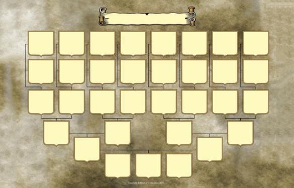 5 Generation Family Tree Template Unique 5 Generation Family Tree Template – 10 Free Sample