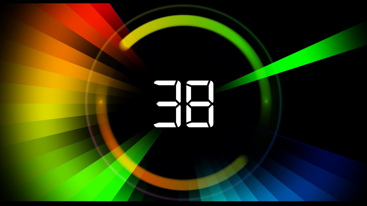 5 Minute Timer with sound Beautiful 60 Sec Countdown Timer V 459 News theme Circle Timer