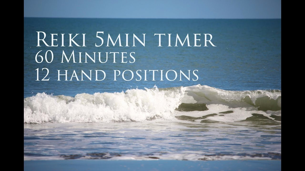 5 Minute Timer with sound Fresh Reiki 5 Minute Timer with sounds Of the Sea 60 Minutes