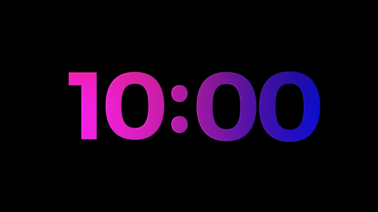 5 Minute Timer with sound Luxury 10 Min Countdown Timer V 619 ⏰ with sound Effects 4k