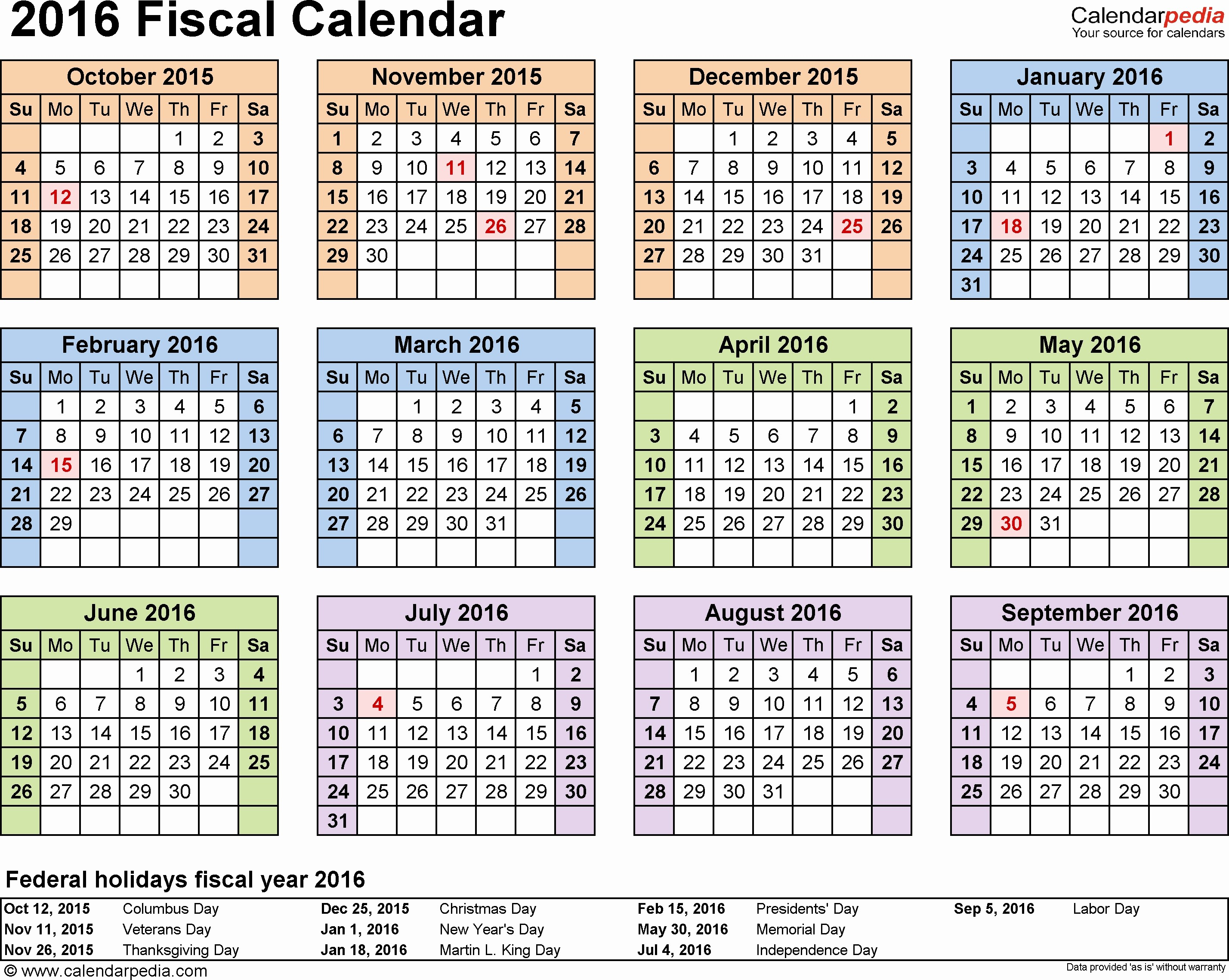 5 Year Calendar Starting 2016 Beautiful Pay Period Calendar 2016 Federal Government